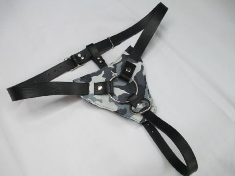 Fully Adjustable two size ring design Adam Strap On Harness